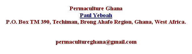 permaculture.ghana