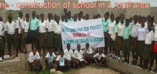 sierra.leone.school. New school constructed by FIOH Sierra Leone 2015