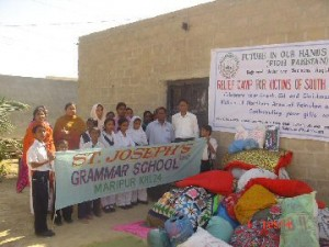 pakistan.fioh.fund.. FIOH Pakistan helping victims of the earthquake in Punjab