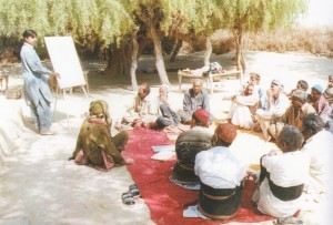 fioh.fund.pakistan.participatory.village.development.programme. Poverty alleviation in the Thar Desert. Management and rights training