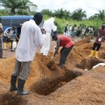 sierra.leone.ebola. Safe burial in Tonkolili district