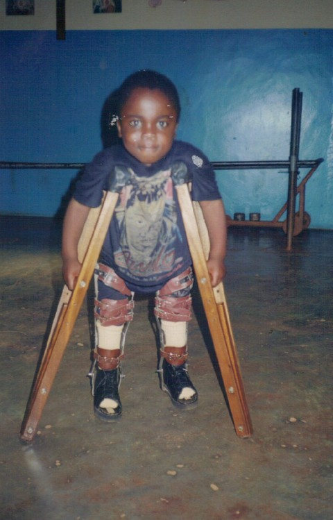 fioh.fund.cameroon.glores. Child with independent mobility