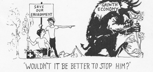 economic.growth.monster. How economic growth destroys the environment