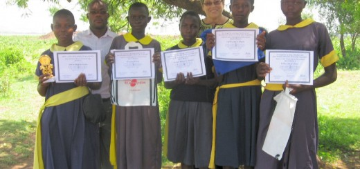 Winners of Rom Scholarship prize
