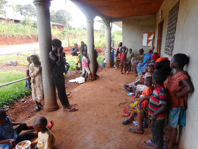 People waiting for treatment at the GLORES centre