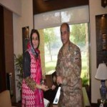 shaista Banu and Commander Multan